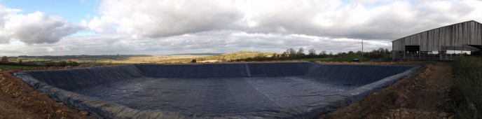 Completed Slurry Installation from Stephens Industries