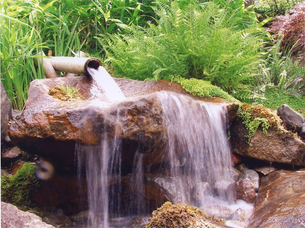 Ponds waterfalls and streams stephens liners for Waterfall pond liners