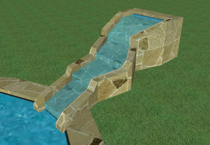 Waterfalls - 5) Completion of Pond Waterfall
