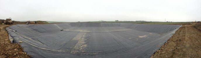 Slurry Lagoon completed with Firestone 1.14mm