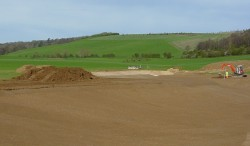 Decorative Lake Construction - 1) Ground Preparation