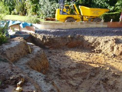 Large Domestic Pond - 1) Ground Preparation